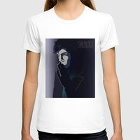 sherlock T-shirts featuring SHERLOCK by ketizoloto