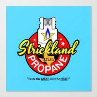 Strickland Propane  |  Arlen Texas Canvas Print
