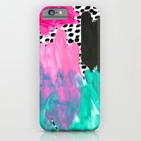 iPhone Cases featuring BAM! by Bouffants and Broken Hearts