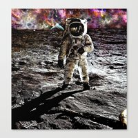 Moonman  Canvas Print