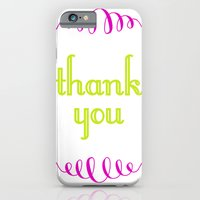 thank you iPhone 6 Slim Case
