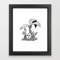 Forest Totem Framed Art Print