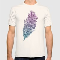 Supreme Plumage Mens Fitted Tee Natural SMALL
