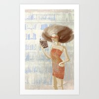 Librarian Art Print
