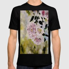 Rosy days Mens Fitted Tee Black SMALL