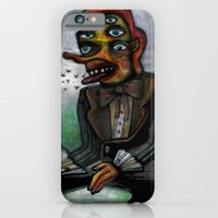 iPhone & iPod Case featuring The Eye in the Ointment by Richard J. Bailey