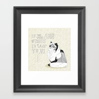 If You Were A Pair Of Pa… Framed Art Print