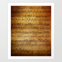 Yesterday's Music Art Print