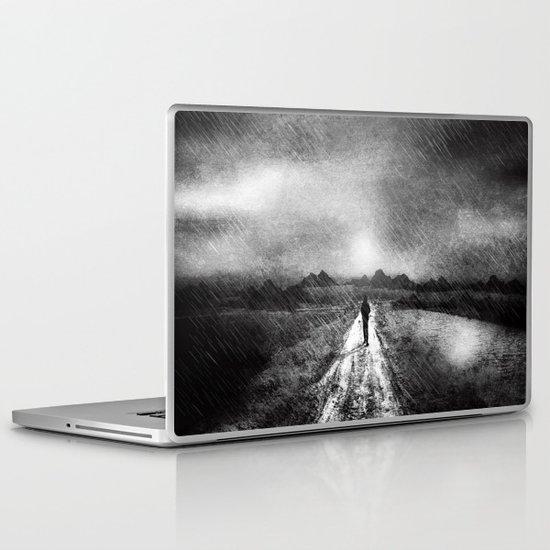 it's raining again (b&w) Laptop & iPad Skin