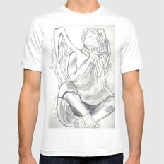 The Piper Mens Fitted Tee White SMALL