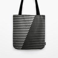 Black Vs. White Tote Bag