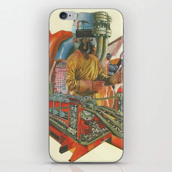 We penetrated deeper and deeper into the heart of darkness iPhone & iPod Skin