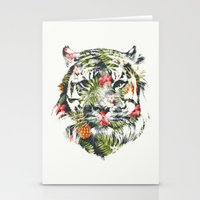 Tropical tiger Stationery Cards