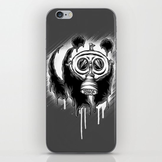 Choked Panda iPhone & iPod Skin