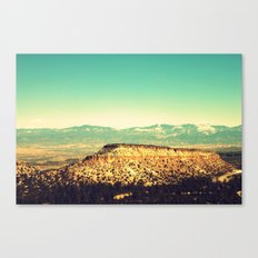 Main Hill, Los Alamos NM Canvas Print