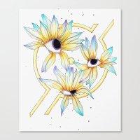 Ruptured Sun Canvas Print