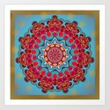 Mix&Match:  Merry Christmas From Tibet (with LOVE!) 03 Art Print