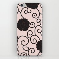 Swirls and Twirls iPhone & iPod Skin