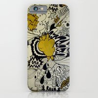 iPhone & iPod Case featuring Cœur de Pirate by benjamin chaubard