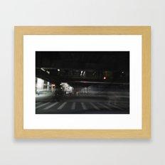 Living El Framed Art Print
