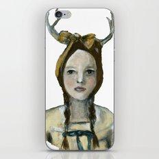Woodland Girl II iPhone & iPod Skin
