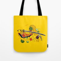 Kill Fruit Tote Bag