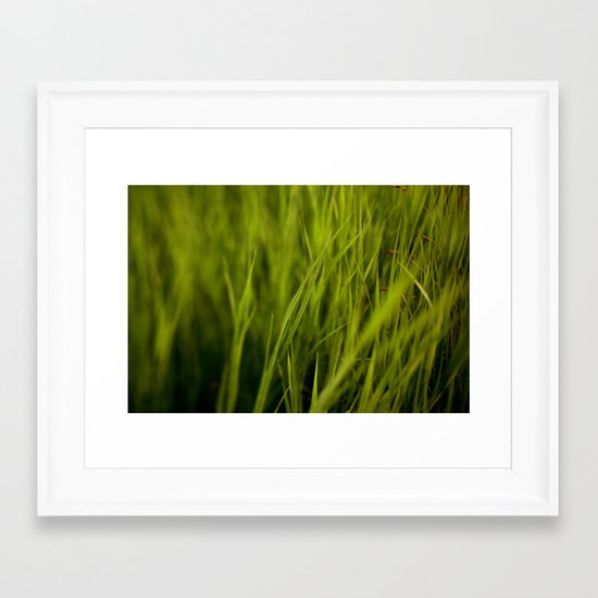 Greener #2 Framed Art Print