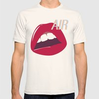 Air  Mens Fitted Tee Natural SMALL