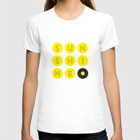 Sunshine Womens Fitted Tee White SMALL