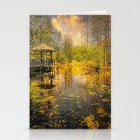 The Pond Stationery Cards