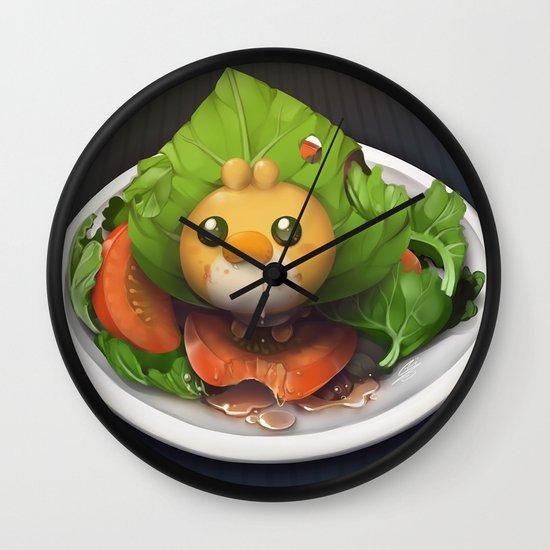 Pokemon Salad Wall Clock