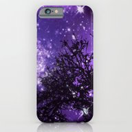 Trees, Stars And Lavende… iPhone 6 Slim Case