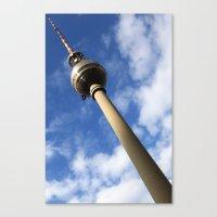 Berlin Fernsehturm Bild … Canvas Print