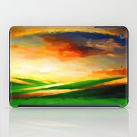 Colorful Sky - Painting Style iPad Case