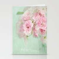 vintage roses Stationery Cards