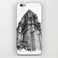 Notredame Paris iPhone & iPod Skin
