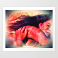 Bow dream Art Print