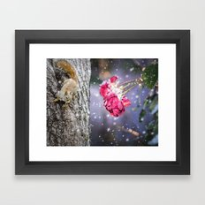 Let's hang in there together Framed Art Print