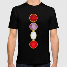 We Are The Crystal Gems Mens Fitted Tee Black SMALL