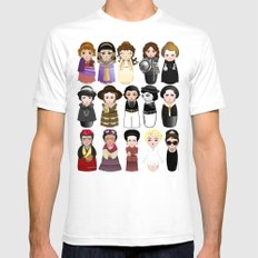Kokeshis Women in the History Mens Fitted Tee White SMALL