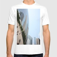 Distort Mens Fitted Tee White SMALL