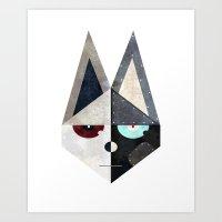 [fox] Art Print