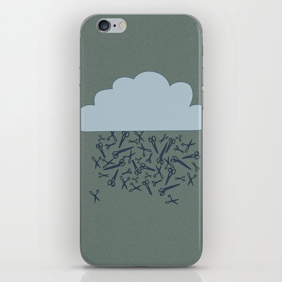IT'S RAINING BLADES iPhone & iPod Skin