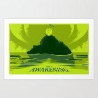 Link's Awakening (Open E… Art Print