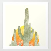 Desert Vibes Art Print