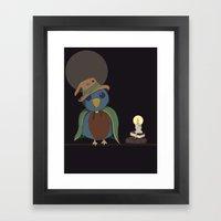 Wizard Bird Framed Art Print