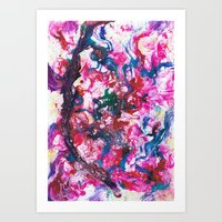 Aromatherapy  Art Print