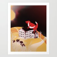 Sunrise Glory (Stolen Mo… Art Print