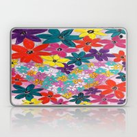 Floral Heart Laptop & iPad Skin