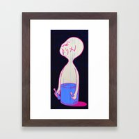 Untitled #1 - When I was young Framed Art Print